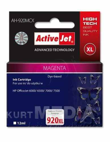 Ver CARTUCHO COMP ACTIVEJET HP N920XL CD973AE MAGENTA