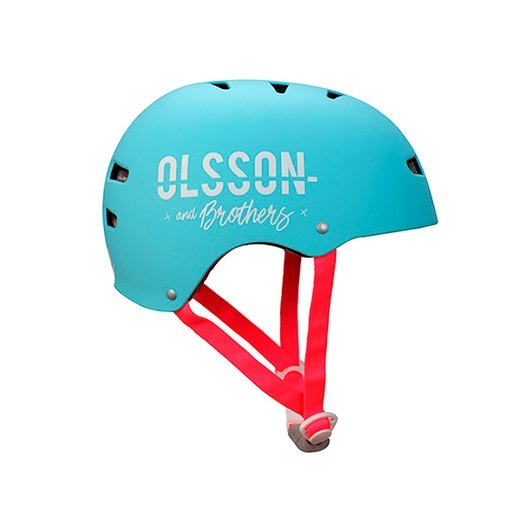 CASCO OLSSON TALLA ML NINA AZUL