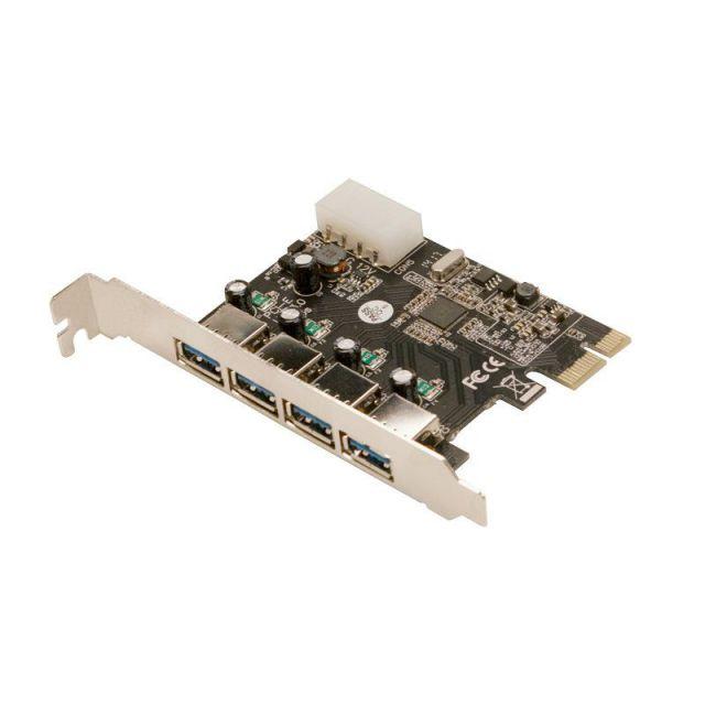 Ver CONTROLADORA MINI PCIE 4XUSB30 PCI E LOGILINK