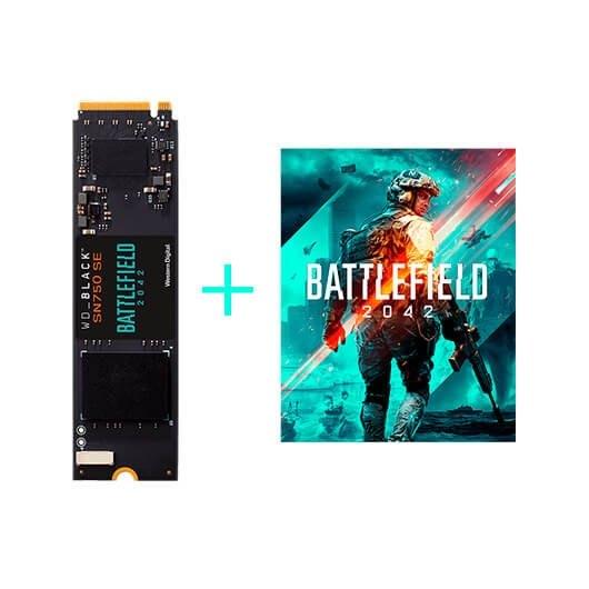 DISCO DURO M2 SSD 1TB PCIE4 WD BLACK SN750 SE BF 2042