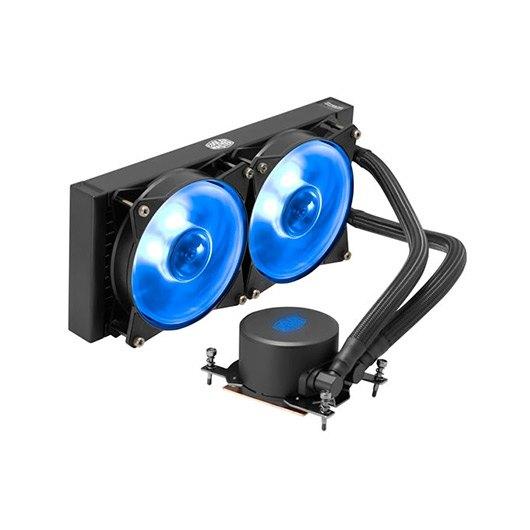 Ver DISIPADOR REF LIQUIDA COOLERMASTER ML240 RGB TR4 ED