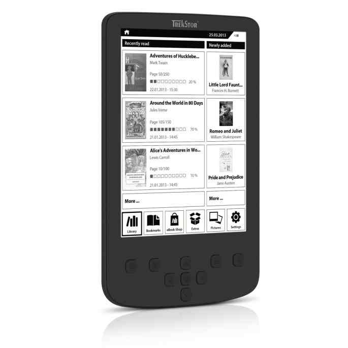 E Book 6 Trekstor Ebook Reader Pyrus 2 Led