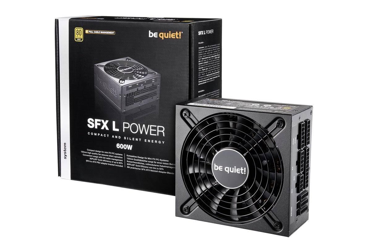 Fuente Sfx 600w Be Quiet Sfx L Power 80 Goldfull Modular