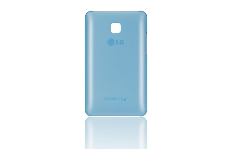 Ver FUNDA MOVIL LG L3 II ULTRA SLIM AZUL