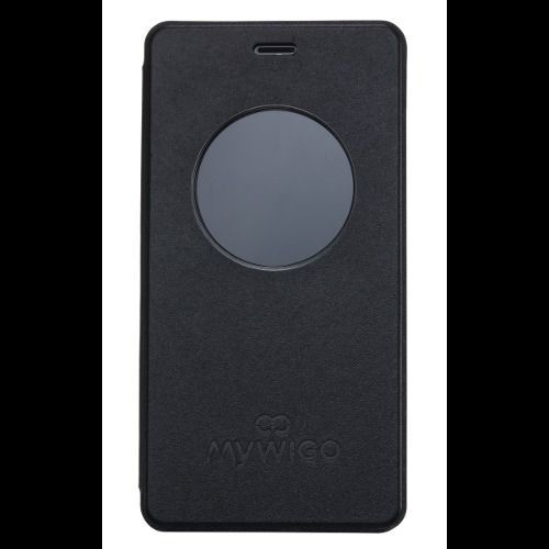 Ver FUNDA SMART COVER MOVIL MYWIGO CITY 2 NEGRO