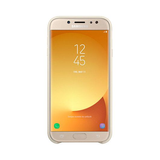 Ver FUNDA MOVIL SAMSUNG J7 2017 RIGIDA DORADO