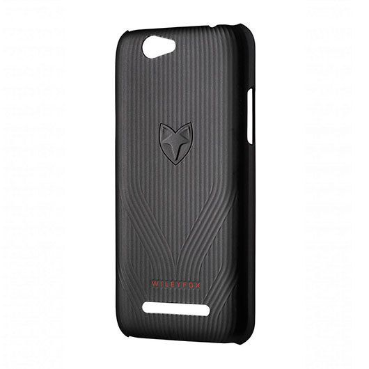 Ver FUNDA MOVIL WILEYFOX SPARK X RIGIDA NEGRO