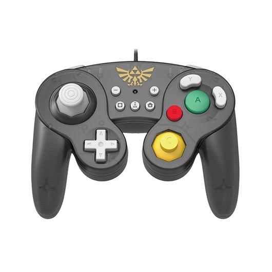 Gamepad Hori Battle Zelda Negro