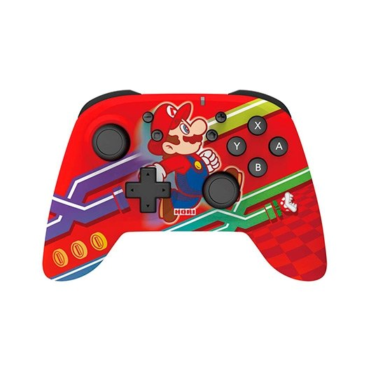Gamepad Hori Wireless Mario Rojo Ed Especial Bluetoothace