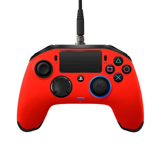 GAMEPAD NACON PS4 REVOLUTION PRO ROJO