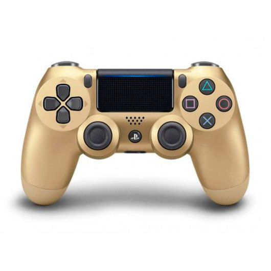 Ver GAMEPAD ORIGINAL PS4 DUALSHOCK DORADO V2