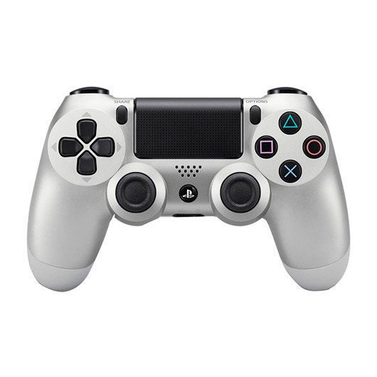 GAMEPAD ORIGINAL PS4 DUALSHOCK PLATEADO V2