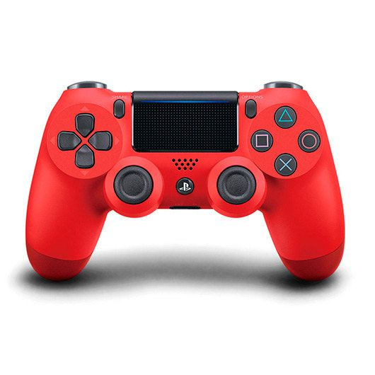 Ver GAMEPAD ORIGINAL SONY PS4 DUALSHOCK ROJO V2