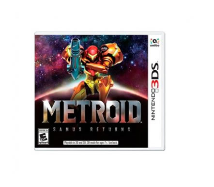 Ver JUEGO NINTENDO 3DS METROID SAMUS RETURNS