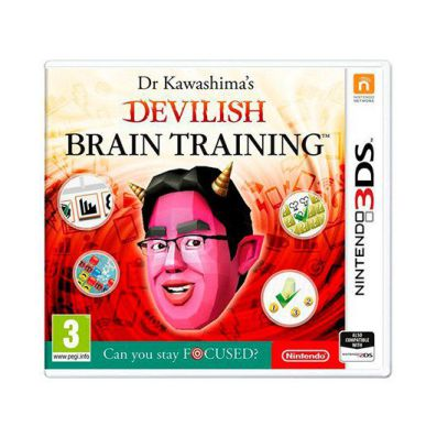 Ver JUEGO NINTENDO 3DS DEVILISH BRAIN TRAINING