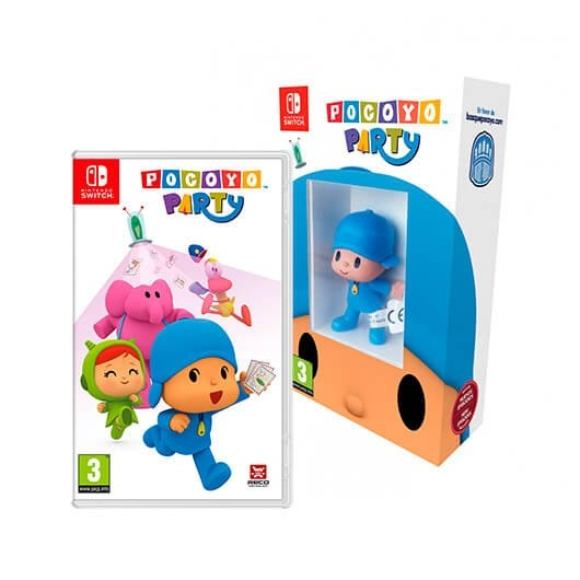 Juego Nintendo Switch Pocoyo Party Incluye Figura De Pocoyo