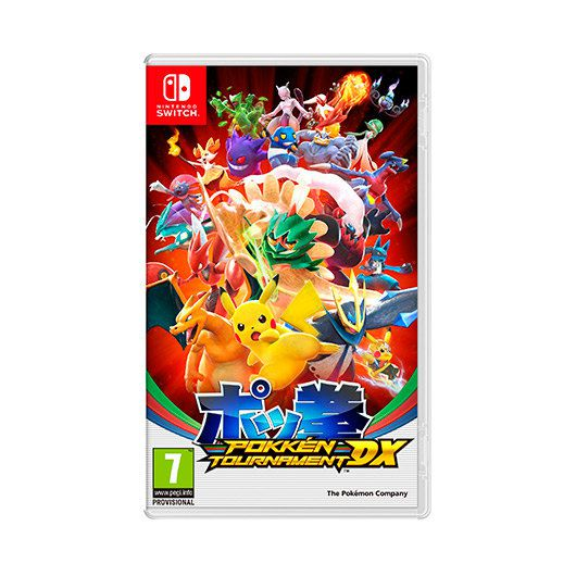 Ver JUEGO NINTENDO SWITCH POKKEN TOURNAMENT DX