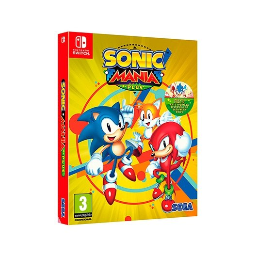 Ver JUEGO NINTENDO SWITCH SONIC MANIA PLUS