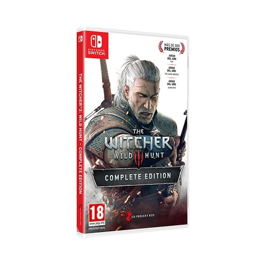 JUEGO NINTENDO SWITCH THE WITCHER 3 WILD HUNT