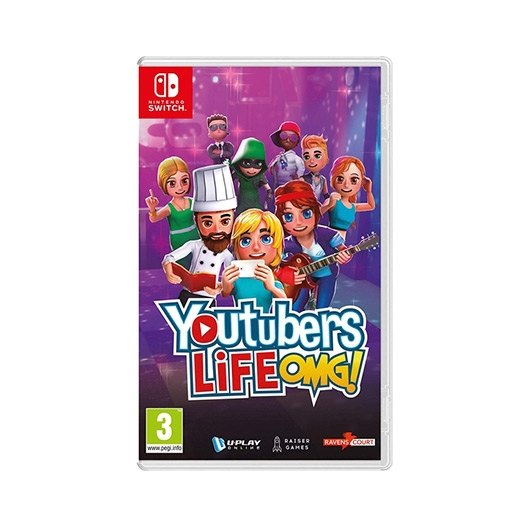 JUEGO NINTENDO SWITCH YOUTUBERS LIFE
