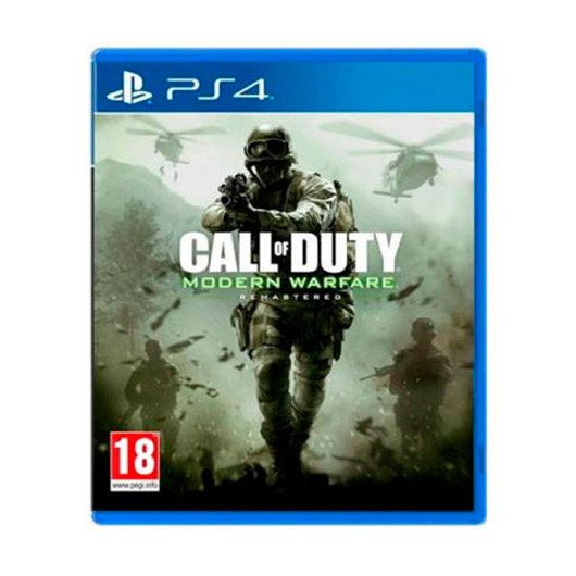 Ver JUEGO PS4 MODERN WARFARE REMASTERED