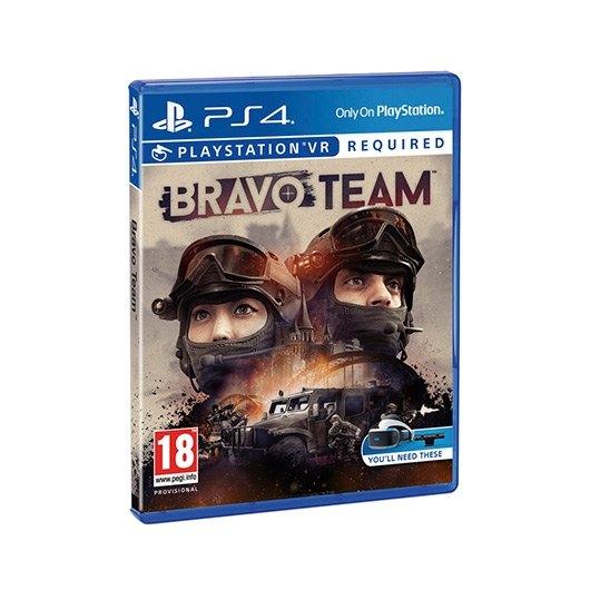 Ver JUEGO SONY PS4 BRAVO TEAM VR