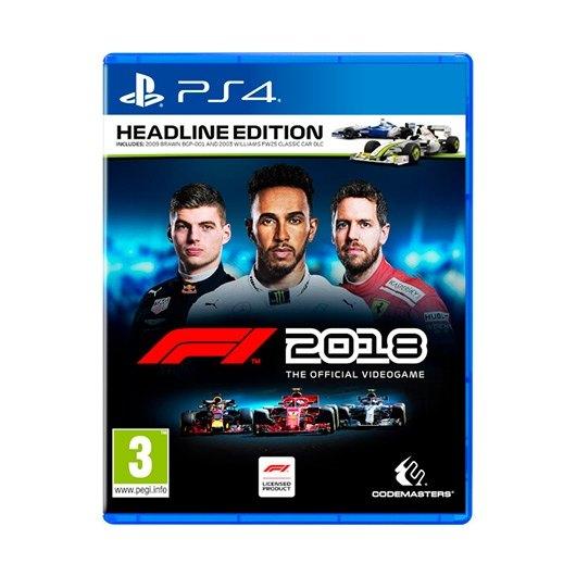 JUEGO SONY PS4 F1 2018 HEADLINE EDITION
