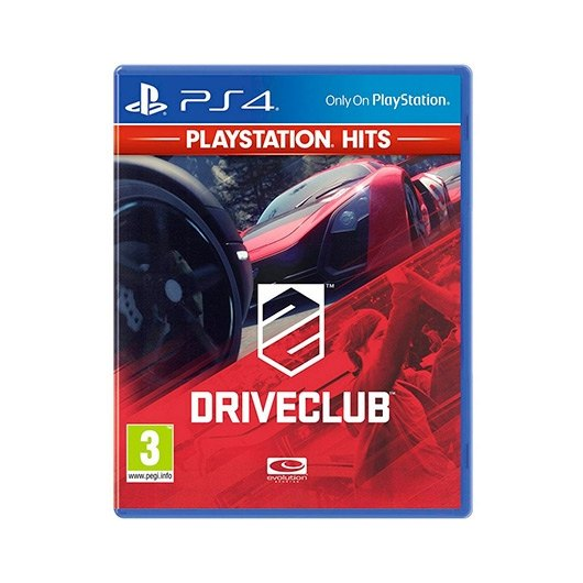 Ver JUEGO SONY PS4 HITS DRIVECLUB