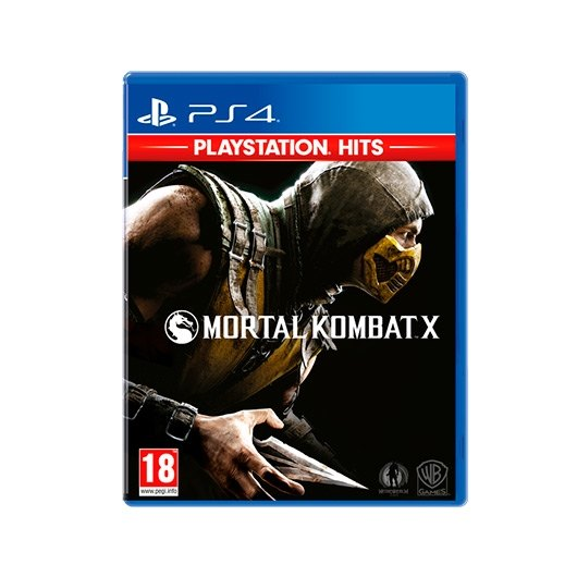 Ver JUEGO SONY PS4 HITS MORTAL KOMBAT X