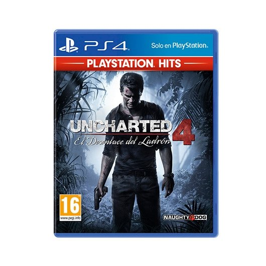 Ver JUEGO SONY PS4 HITS UNCHARTED 4