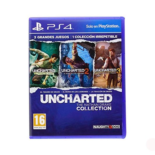 Ver JUEGO SONY PS4 HITS UNCHARTED COLLECTION