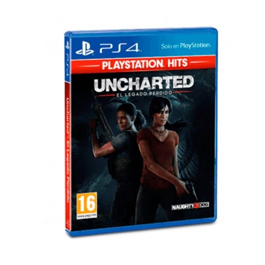 JUEGO SONY PS4 HITS UNCHARTED THE LOST LEGACY