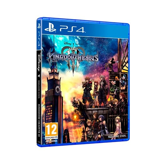 Ver JUEGO SONY PS4 KINGDOM HEARTS 3 STANDARD EDITION