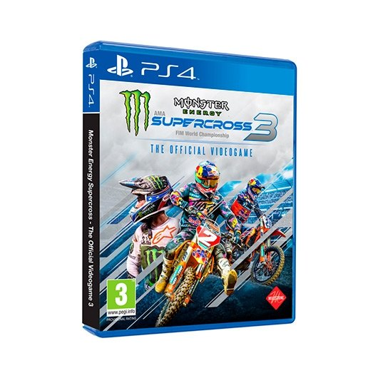 JUEGO SONY PS4 MONSTER ENERGY SUPERCROSS TOV 3