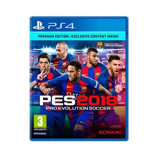 JUEGO SONY PS4 PES 2018 PREMIUM EDITION