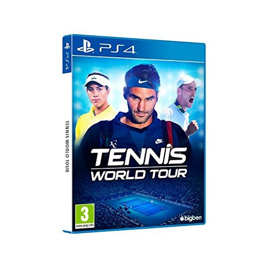 Ver JUEGO SONY PS4 TENNIS WORLD TOUR