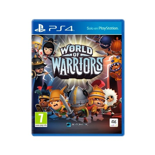 Ver JUEGO SONY PS4 WORLD OF WARRIORS