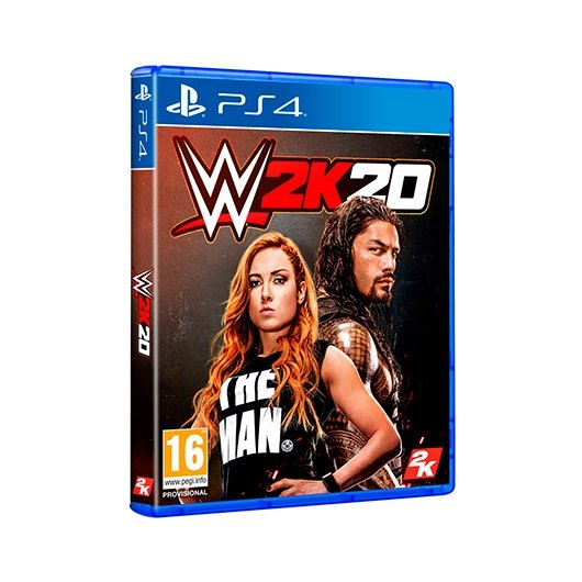 JUEGO SONY PS4 WWE 2K20