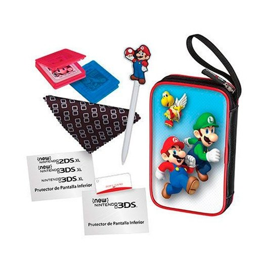 Ver KIT ACCESORIOS NINTENDO NEW 2DS3DS MARIO