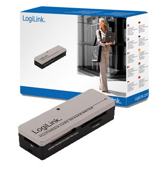 Ver LECTOR TARJETA EXT LOGILINK MINI ALL-IN-1 CR0010
