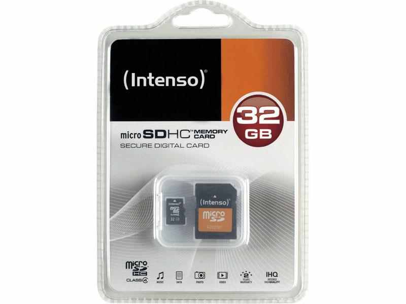 Ver INTENSO MICRO SD 32GB  ADAPTADOR CL4