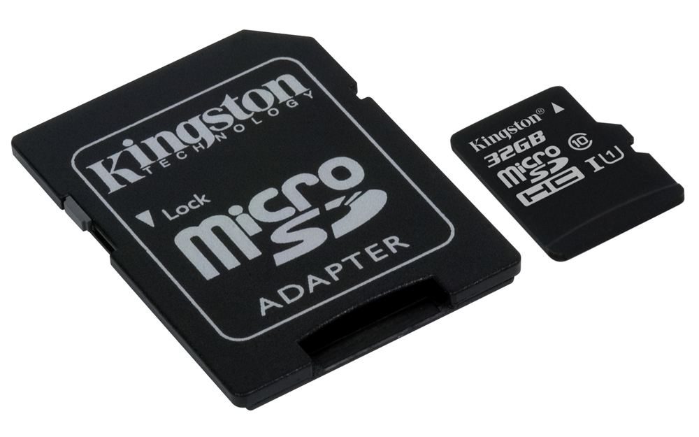 Ver KINGSTON MICRO SD 32GB CL10 GEN2  ADAPT SD