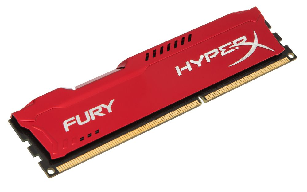 Ver KINGSTON DDR3 8GB PC1600 HYPERX FURY RED