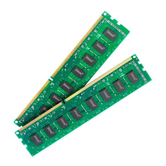 Ver MODULO DDR3 2X4GB DC KIT INTENSO
