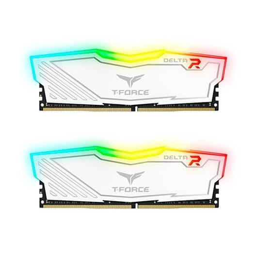 Modulo Ddr4 16gb 2x8gb 3200mhz Teamgroup Delta Blancot For