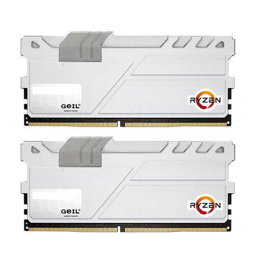Ver MODULO DDR4 16GB 2X8GB PC2400 GEIL EVO X WHITE