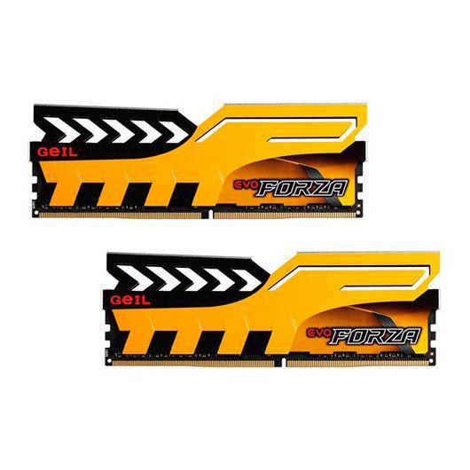 Ver MODULO DDR4 8GB 2X4GB PC2133 GEIL FORZA YELLOW