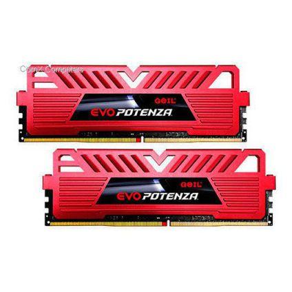 MODULO DDR4 8GB 2X4GB PC2400 GEIL EVO POTENZA