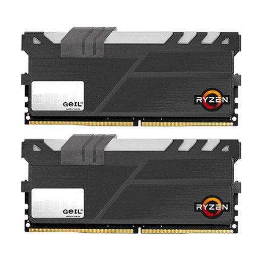 Ver MODULO DDR4 8GB 2X4GB PC2400 GEIL EVO X BLACK