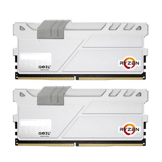 GEIL EVO X DDR4 8GB 2X4GB PC2400 WHITE